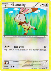Bunnelby - 120/160 - Common on Channel Fireball