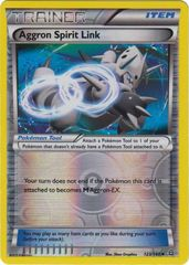 Aggron Spirit Link - 123/160 - Uncommon - Reverse Holo on Channel Fireball