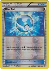 Dive Ball - 125/160 - Uncommon - Reverse Holo