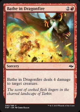 Bathe in Dragonfire - Foil