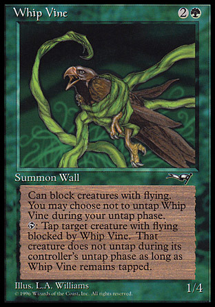 Whip Vine (Ensnared Bird)