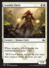 Arashin Cleric on Channel Fireball