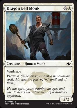 Dragon Bell Monk