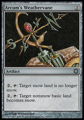Arcum's Weathervane (Coldsnap Theme Deck Reprint)