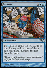 Browse (Coldsnap Theme Deck Reprint)