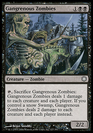 Gangrenous Zombies