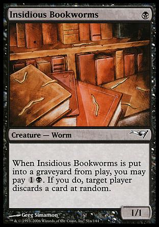 Insidious Bookworms