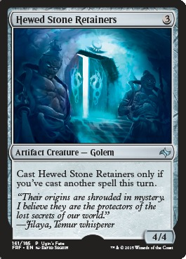 Hewed Stone Retainers (Ugin's Fate)