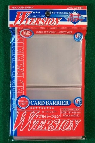 KMC Clear Sleeves (80 ct)
