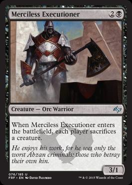 Merciless Executioner - Foil