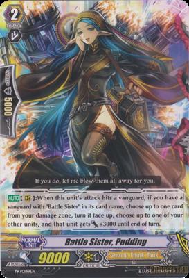 Battle Sister, Pudding - PR/0149EN - PR