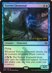 Torrent Elemental (Fate Reforged Prerelease)