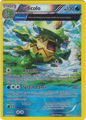 52//160 Pokemon Primal Clash Gorebyss Rare Card