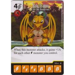 Baby Dragon - Cute but Dangerous (Die & Card Combo)