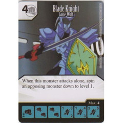 Blade Knight - Lone Wolf (Die & Card Combo)