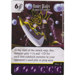 Buster Blader - Dragon Executioner (Die & Card Combo)