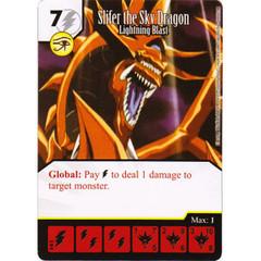 Slifer the Sky Dragon - Lightning Blast (Die & Card Combo)