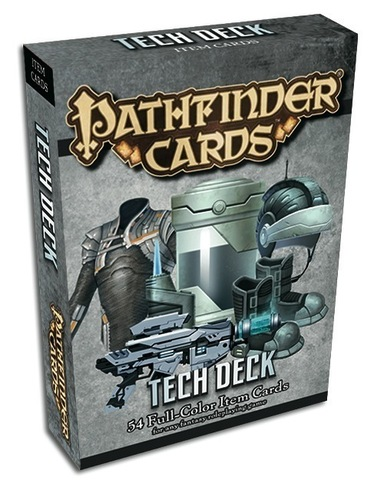 Pathfinder Cards: Tech Deck Item Cards - RPG Roleplaying