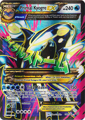 Primal Kyogre EX - 149/160 - Full Art