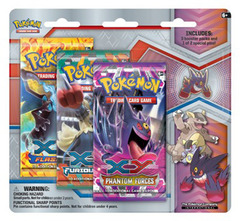 Pokemon Mega Evolution 3-Booster Blister Pack - Gengar Pin