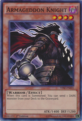 Armageddon Knight - THSF-EN035 - Super Rare - 1st Edition on Channel Fireball