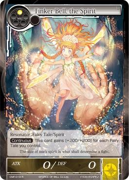 Tinker Bell, the Spirit - CMF-019 - R - 1st Printing