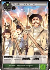 Musketeer's Bayonet - CMF-072 - C - 1st Printing
