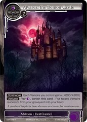Alvarez, the Demon Castle - CMF-078 - R - 1st Printing on Channel Fireball