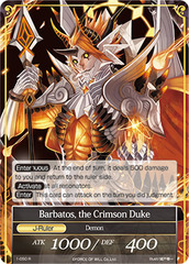 Barbatos, the Crimson Duke - 1-050 - R