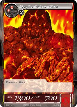 Bogallo, the Lava Giant - 3-027 - U