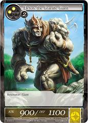 Eletos, the Granite Giant - 3-003 - U