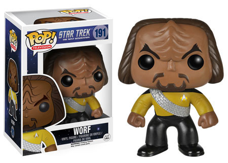 TV Series - #191 - Worf (Star Trek: The Next Generation)