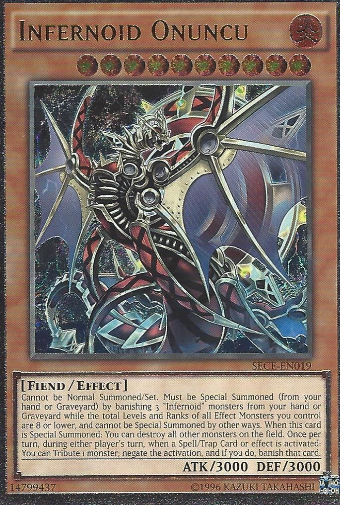 Infernoid Onuncu - SECE-EN019 - Ultimate Rare - Unlimited Edition