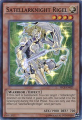 Satellarknight Rigel - SECE-EN025 - Super Rare - Unlimited Edition