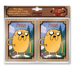 Adventure Time Card Wars Jake Card Sleeves 80 Count