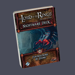 The Lord of the Rings: The Card Game  Nightmare Deck: Foundations of Stone