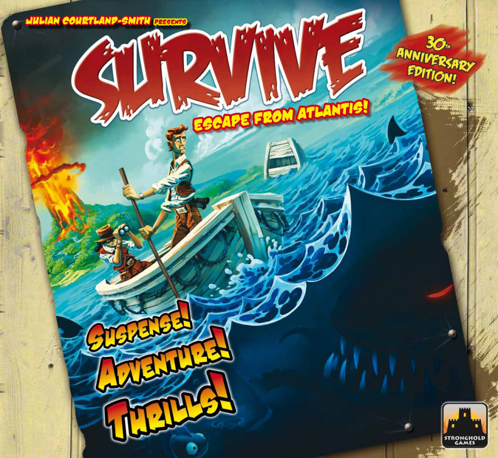 Survive: Escape from Atlantis! (30th Anniversary Edition)