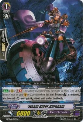 Steam Rider, Burnham - G-TD01/012EN - TD