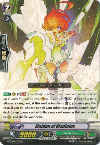 Maiden of Gladiolus - G-TD03/007EN (C)