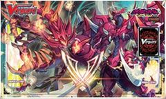 Cardfight!! Vanguard: Playmat - Blazing Perdition Dragon Dragonic Neoflame