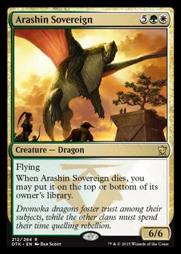 Arashin Sovereign - Foil