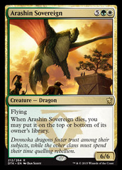 Arashin Sovereign - Foil on Channel Fireball