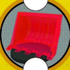 Bulldozer (Red) (R202.11)