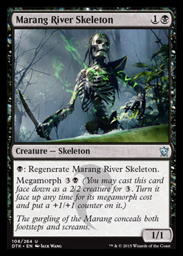 Marang River Skeleton - Foil