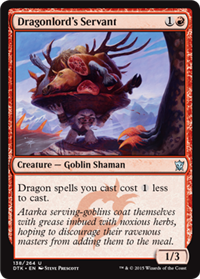 Dragonlords Servant - Foil