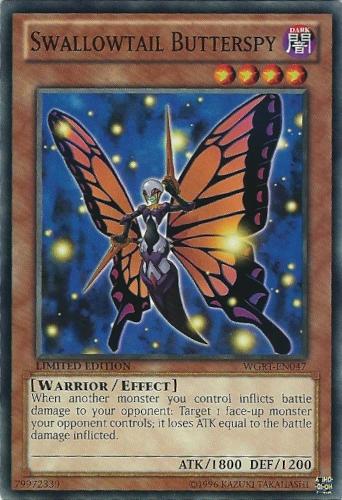 Swallowtail Butterspy - WGRT-EN047 - Common - Limited Edition