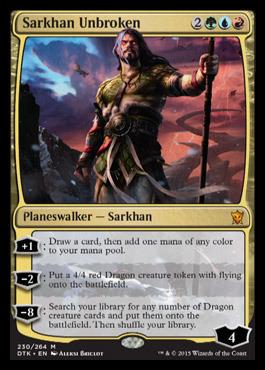 Sarkhan Unbroken - Foil