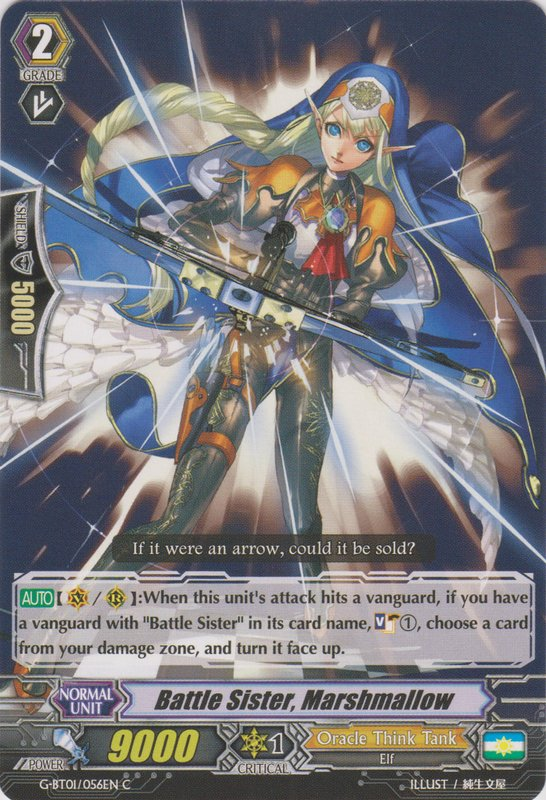 Battle Sister, Marshmallow - G-BT01/056EN - C
