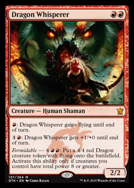 Dragon Whisperer - Foil