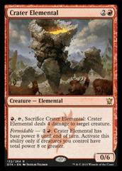 Crater Elemental - Foil